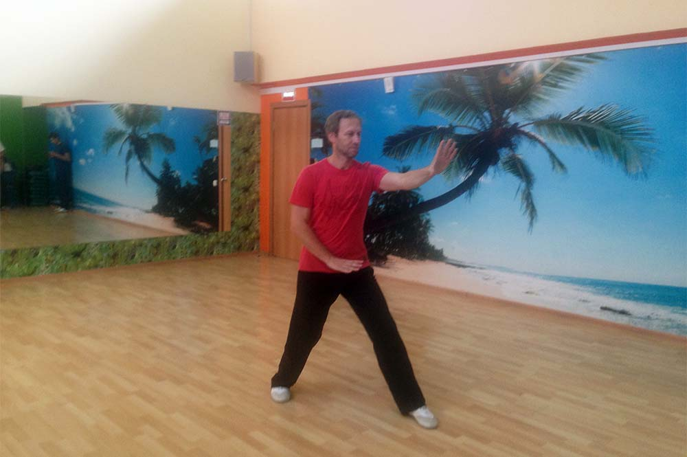 Синъицюань – «кулак формы и воли» – первая тренировка.